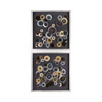 Uttermost 04094 Discs Wall Art, Jim Parsons