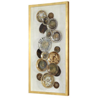 Uttermost 04152 Myla Multicolored and Metallic Gold Leaf Antique Plate Shadow Box 04152_A.jpg thumb