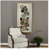 Uttermost 04152 Myla Multicolored and Metallic Gold Leaf Antique Plate Shadow Box 04152_Lifestyle.jpg thumb