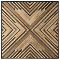 Uttermost 04160 Floyd Varying Shades of Brown Wall Art