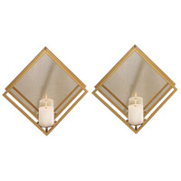 Zulia 16 X 16 inch Candle Sconces, Set of 2