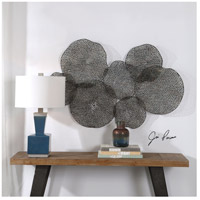 Uttermost 04174 Ripley 47 X 26 inch Metal Leaf Wall Art 04174_Lifestyle.jpg thumb