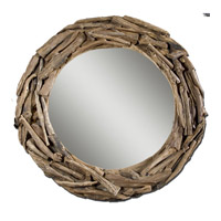 Uttermost Teak Root Large Mirror in Lightly Stained Natural Teak Roots 05024