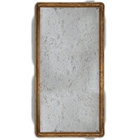 Uttermost 05025 Piave 36 X 24 inch Antiqued Gold Leaf Wall Mirror thumb
