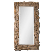Teak Root Natural 79 X 39 inch Unfinished Teak Mirror Home Decor