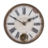 Uttermost 06039 Townsend 11 X 11 inch Wall Clock thumb