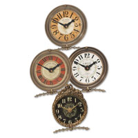 Uttermost 06064 Mini Table Classic 4 X 4 inch Wall Clock thumb