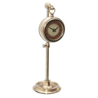 Uttermost Pocket Watch Brass Thuret Clock in Brass 06068