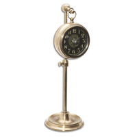 Pocket Watch Brass Woodburn 12 X 4 inch Table Clock