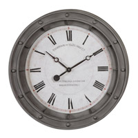 Uttermost 06092 Porthole 24 X 24 inch Wall Clock