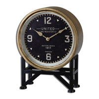 Uttermost 06094 Shyam 16 X 12 inch Table Clock
