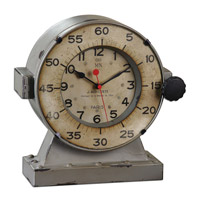 Uttermost Marine Table Clock 06096