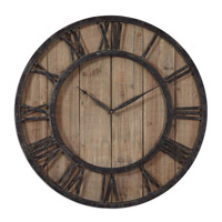Powell 30 X 30 inch Wall Clock