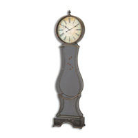 Uttermost Brone Standing Clock in Dark Chestnut 06418
