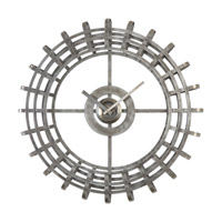 Uttermost Alphonse Wall Clock in Silver 06440