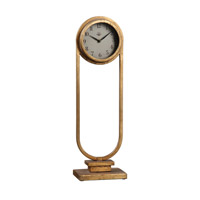Alard Gold Table Top Clock
