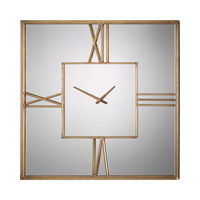 Uttermost Sebastiano Wall Clock in Mirrored 06442