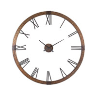 Uttermost Amarion Clock in Hammered Copper Sheeting 06655