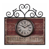 Uttermost 06663 Timeless Bistro 22 X 21 inch Wall Clock thumb