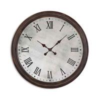 Uttermost Marshall Clock in Rustic Dark Walnut 06889 photo thumbnail