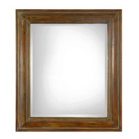 Darian 42 X 36 inch Dark Brown Mirror Home Decor, Rectangular