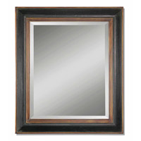 Uttermost Fabiano Black Mirror in Hand Rubbed Black 07023-B