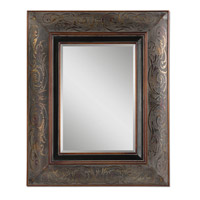Uttermost Bovara Mirror in Rustic Bronze 07043