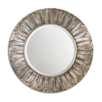 Uttermost Foliage Mirror in Silver Leaf 07065