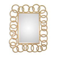 Amena 52 X 42 inch Gold Mirror Home Decor