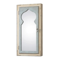 Uttermost Nador Cabinet Mirror in Light Blue 07205