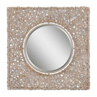Uttermost Knotted Rattan Natural Mirror in Knotted Rattan 07598