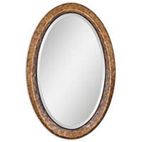 Uttermost Capiz Vanity Mirror in Heavily Antiqued Capiz Shell 07602