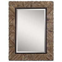 Uttermost Tehama Small Mirror in Light Walnut Stained Wood 07631