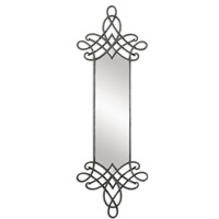 Uttermost Celestia Mirror in Forged Metal 07649