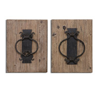 Uttermost Rustic Set of 2 Wall Art 07654