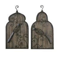 Uttermost Rustic Set of 2 Wall Art 07671