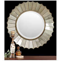 Uttermost Amberlyn Mirror in Heavily Antiqued Gold Leaf 08028-B