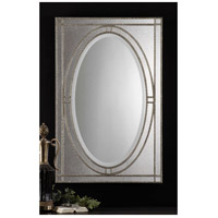 Uttermost Earnestine Mirror in Heavily Antiqued Silver Champagne 08055-B