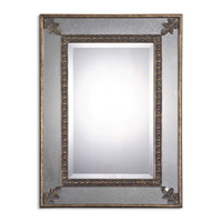 Uttermost Michelina Mirror in Heavily Antiqued Gold Leaf 08056-B