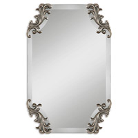 Uttermost 08087 Andretta 29 X 19 inch Shaped Bevel Mirror Wall Mirror