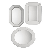 Uttermost Bianco Set of 3 Mirrors 08111