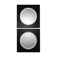 Uttermost Girard Set of 2 Mirrors in Black 08118
