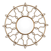 Uttermost Kensa Round Mirror in Gold 08140