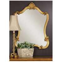 Uttermost Walton Hall Gold U Mirror in Lightly Distressed Gold Leaf 08340-P