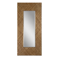Uttermost Gretna Mirror in Lightly Stained Woven Strips Of Banana Leaf 09033 photo thumbnail
