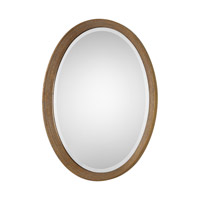 Uttermost Arena Mirror in Antiqued Broken Gold Leaf 09061