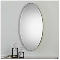 Uttermost 09095 Petra Oval 48 X 24 inch Antique Silver Leaf Wall Mirror 09095.jpg thumb