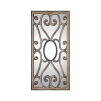 Uttermost 09138 Rosalind 48 X 24 inch Carved Wood Wall Mirror thumb