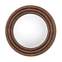Uttermost 09143 Helical 36 X 36 inch Metallic Copper Leaf Mirror Home Decor