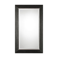 Uttermost Creston Mirror in Mottled Black 09166